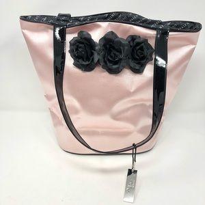 Valentino Authentic Rock N Rose Tote Handbag Purse